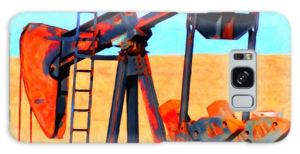 Oil Pump - Painterly Galaxy Case