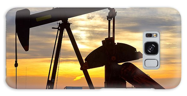 Oil Pump Sunrise Galaxy Case