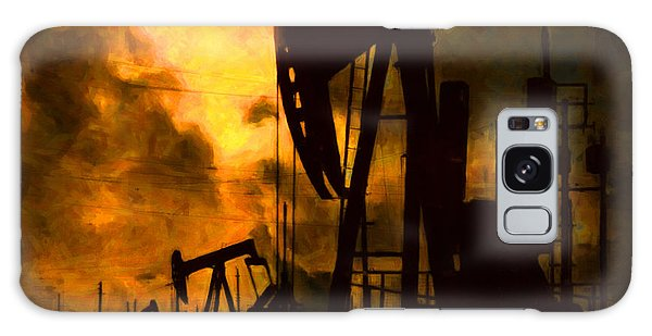 Oil Pumps Galaxy Case