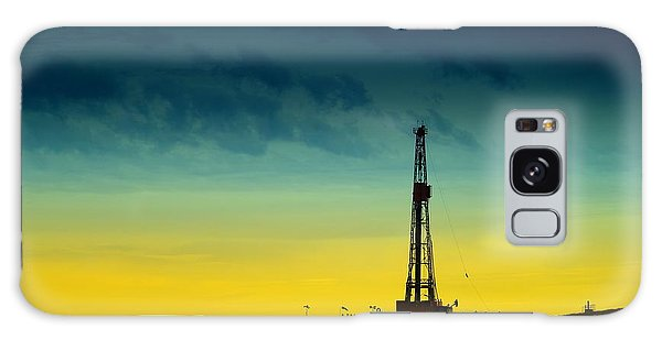 American Steel Galaxy Case - Oil Rig In The Spring by Jeff Swan