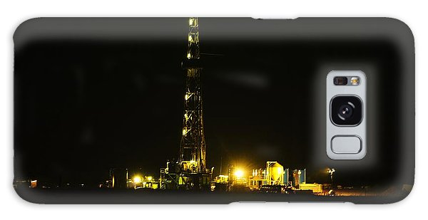 Killdeer Galaxy Case - Oil Rig by Jeff Swan