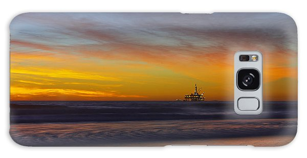 Oil Rig Platform Galaxy Case