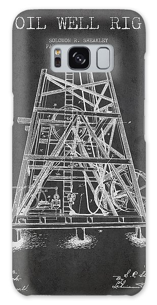 Oil Well Rig Patent From 1893 - Dark Galaxy Case
