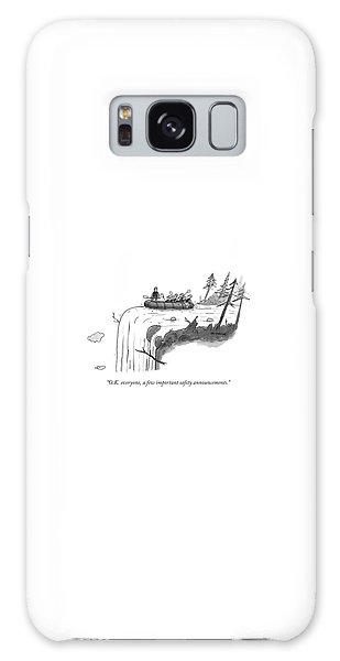 Waterfall Galaxy Case - O.k. Everyone by Jason Patterson