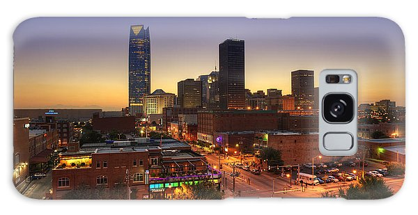 Oklahoma City Nights Galaxy Case