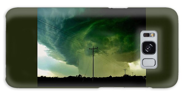 Oklahoma Mesocyclone Galaxy Case by Ed Sweeney
