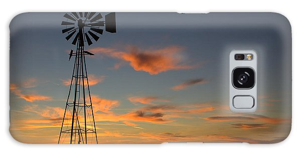 Oklahoma Skies 1 Galaxy Case