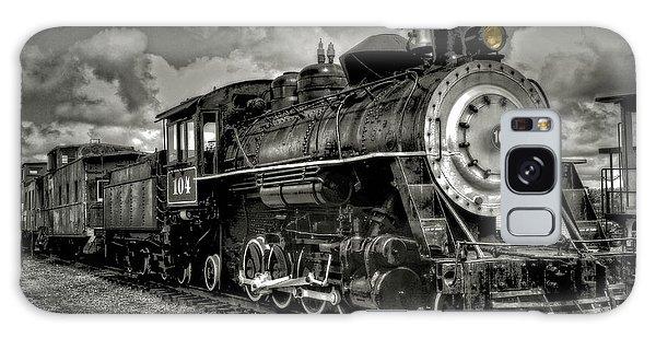 Old 104 Steam Engine Locomotive Galaxy Case
