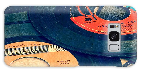 1950s Galaxy Case - Old 45 Records Square Format by Edward Fielding