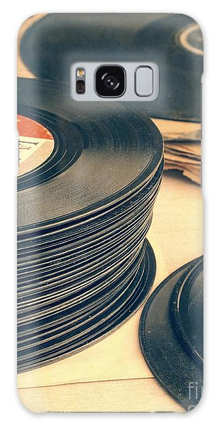 Old 45s Galaxy Case
