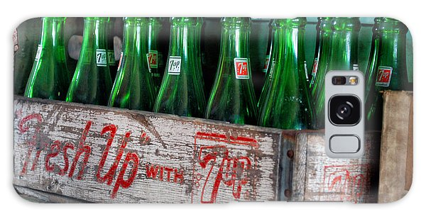 Old 7 Up Bottles Galaxy Case by Thomas Woolworth