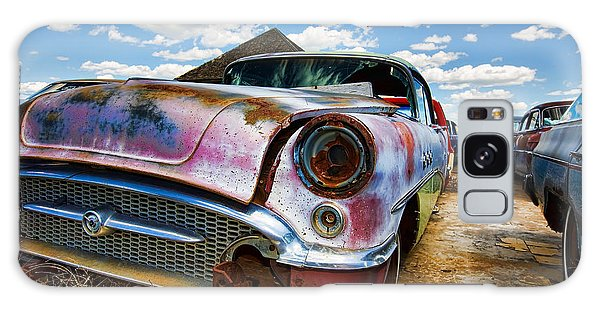 Old Abandoned Cars Galaxy Case