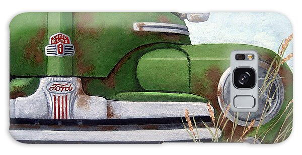 Old And Rusty Vintage Ford Realism Auto Scene Galaxy Case