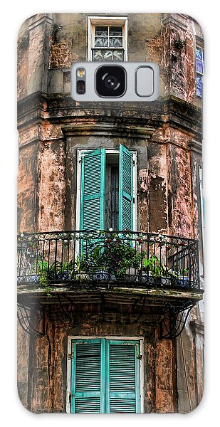 Old And Weathered Galaxy Case by Judy Vincent