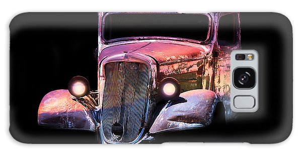 Old Antique Classic Car Galaxy Case