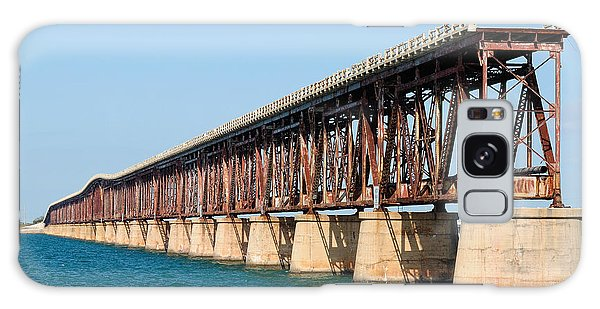 Old Bahia Honda Bridge 2 Galaxy Case