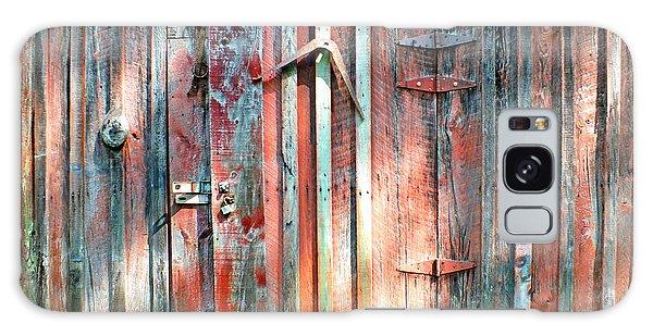 Old Barn Door 2 Galaxy Case