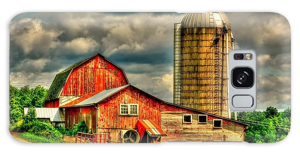 Old Barn Galaxy Case by Ed Roberts