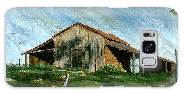 Old Barn Landscape Art Pleasant Hill Louisiana  Galaxy Case