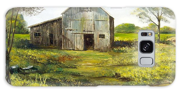 Old Barn Galaxy Case by Lee Piper