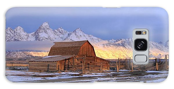 Old Barn On Mormon Row Galaxy Case