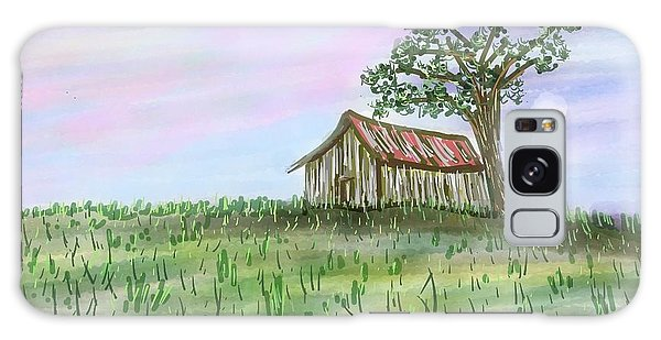 Old Barn Galaxy Case by Stacy C Bottoms