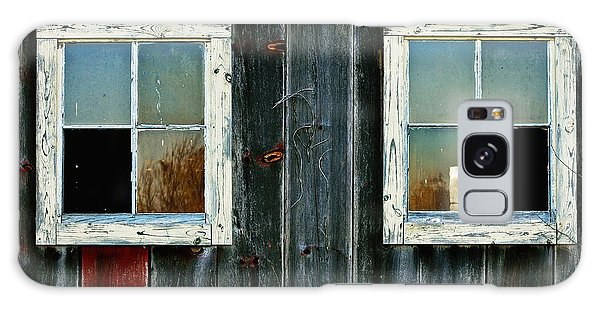 Old Barn Windows Galaxy Case