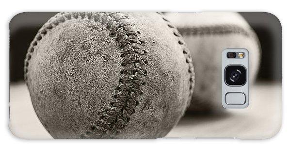 Old Baseballs Galaxy Case