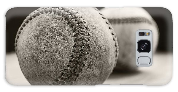 Baseball Galaxy Case - Old Baseballs by Edward Fielding