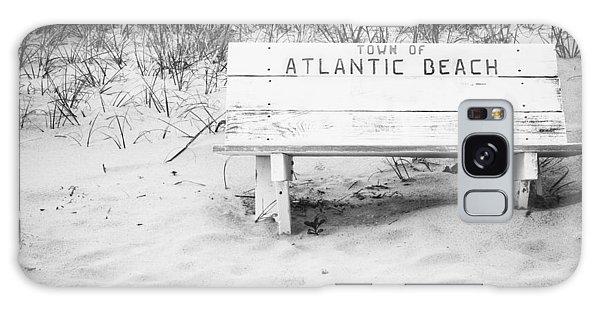 Old Beach Bench Galaxy Case