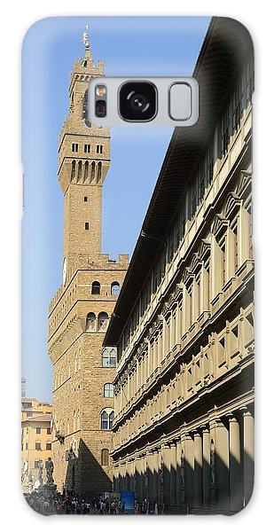Old Bell Tower Florence Galaxy Case