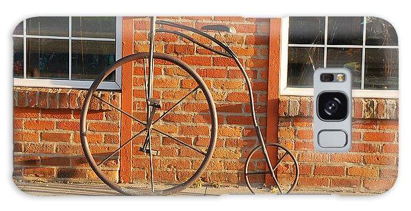 Old Bike Galaxy Case by Mary Carol Story