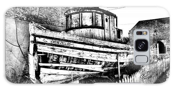 Old Boat In Apalachicola Galaxy Case