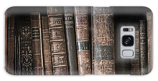 Old Books On The Shelf - 19th Century Library Galaxy Case