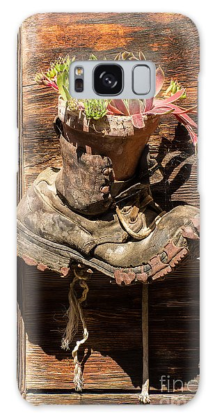 Old Boot Potted Plant - Swiss Alps Galaxy Case