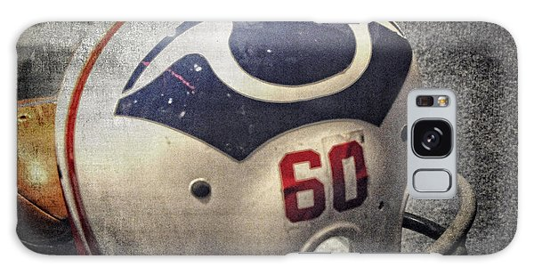 Old Boston Patriots Football Helmet Galaxy Case