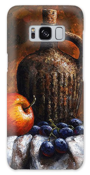 Old Bottle And Fruit Galaxy Case by Emerico Imre Toth