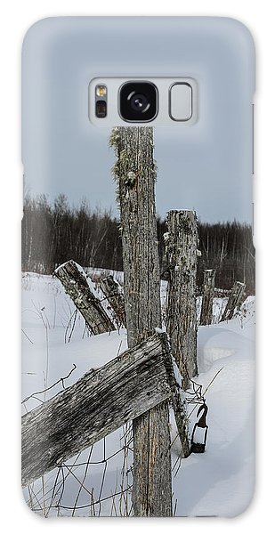 Fence Post Galaxy Case - Old Boundaries by Susan Capuano
