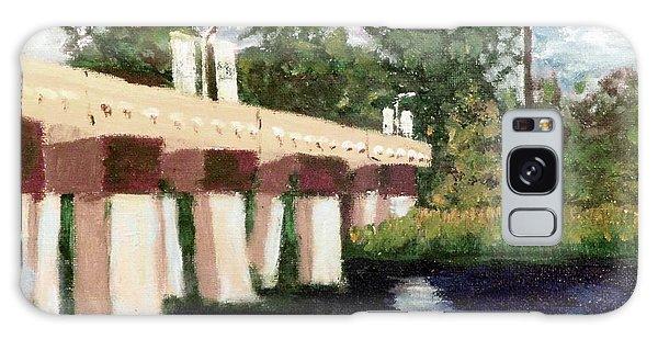 Old Bridge Street Bridge Galaxy Case by Jim Phillips