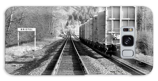 Old Bristol Rail In Ellensburg Galaxy Case