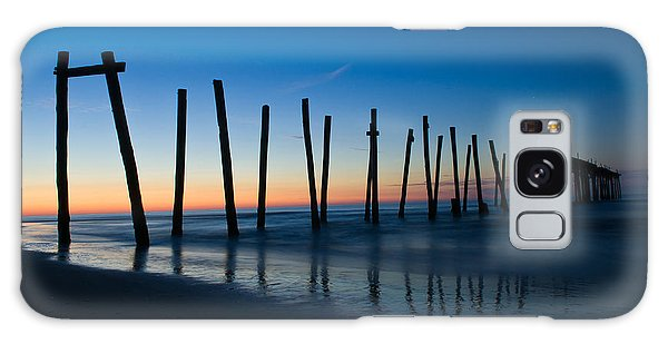 Old Broken 59th Street Pier Galaxy Case
