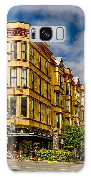 Old Building On So. Broadway Tacoma Wa Galaxy Case