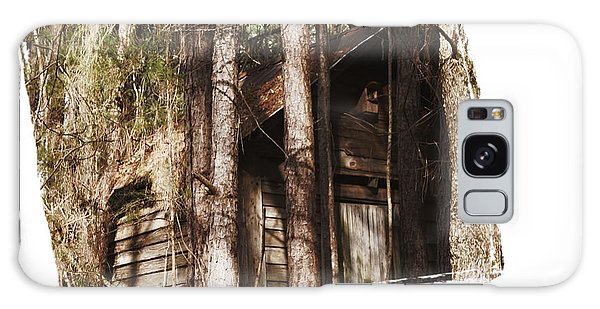 Old Cabin In Georga Galaxy Case