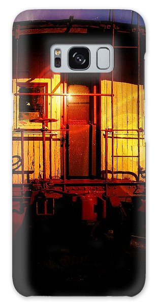 Old Caboose  Galaxy Case by Aaron Berg