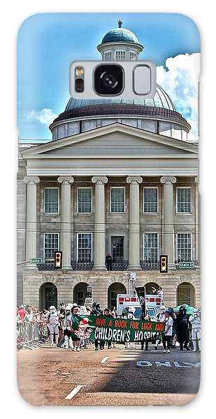 Old Capitol On Parade Day Galaxy Case