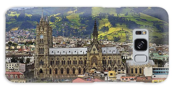Old Cathedral In Quito Ecuador Galaxy Case