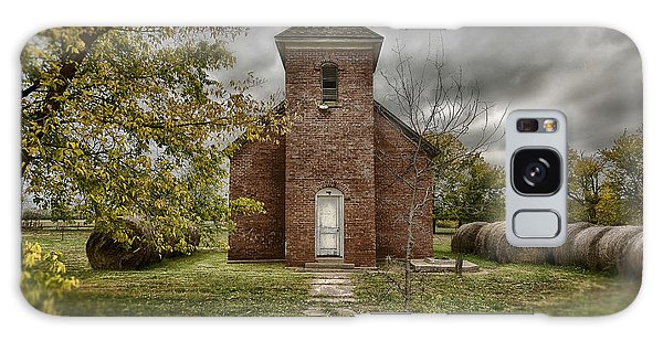 Old Church In Fall Galaxy Case