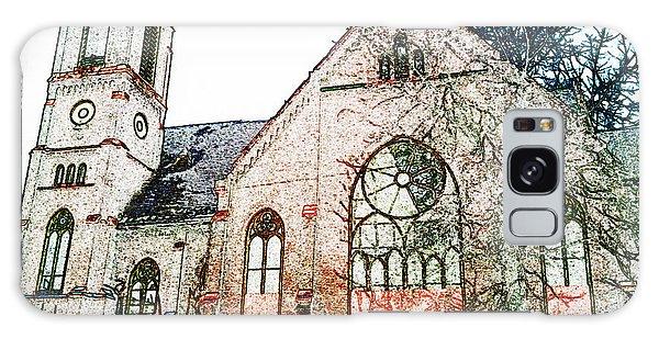 Old Church In Fresco Galaxy Case