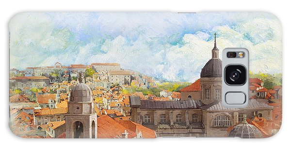 Old City Of Dubrovnik Galaxy Case