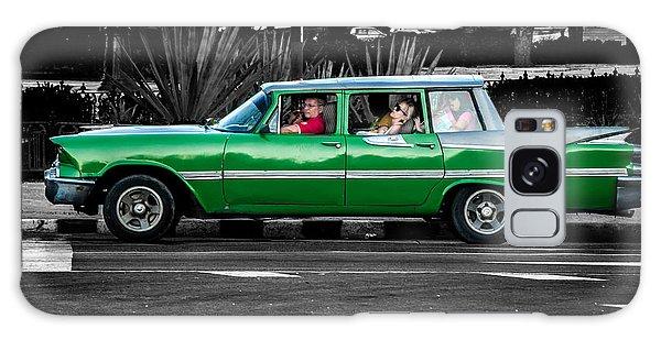 Old Classic Car II Galaxy Case